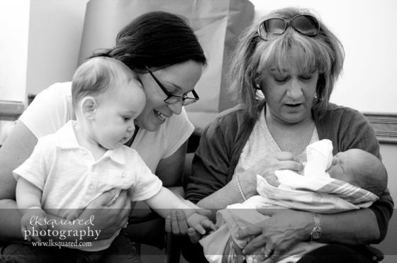 Auntie S, H, Grandma & D